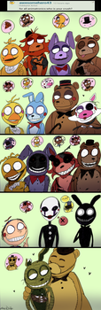 FNAF - Ask#9 Who's Got a Crush on Whom? by Atlas-White