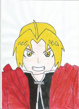 Edward Elric by megamaster112