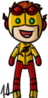 Young Justice - Kid Flash by shrimp-pops