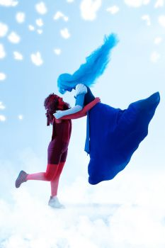 SU Ruby and Sapphire Cosplay by Sioxanne