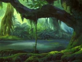 Rain Forest Part01 by Claire-Liu