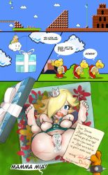 Rosalina is a presenting by uberis