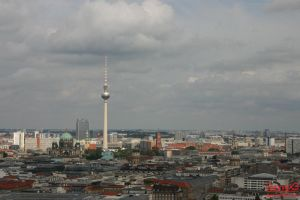 Berlin from above I by SunnYx3
