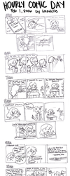 Hourly Comic Day 2016 by Lazulelle