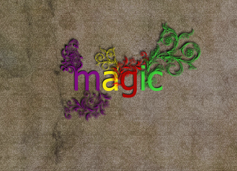 Magic Typography by xianpong