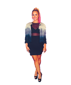 Demil Lovato PNG THe X-Factor by StaystrongImunbroken