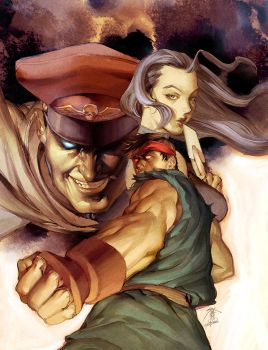 Street Fighter Trade 3 Cover by UdonCrew