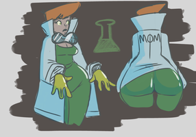 Dexter's Mom's  lab by LawOfThe3rd