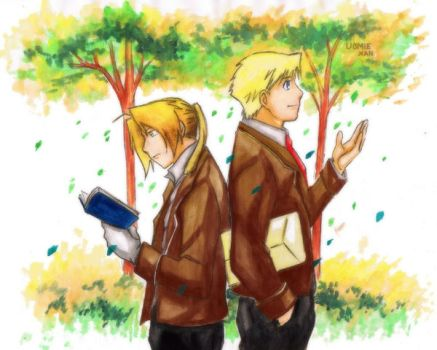 FMA: First Meeting by uomie