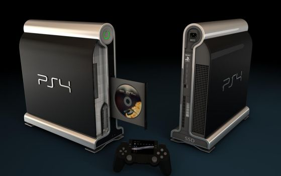 Playstation 4 Concept by Artificialproduction