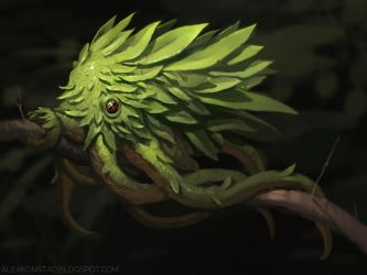 Leaf Octopus by AlexKonstad