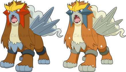 +244 - Entei+ by Cachomon