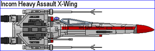 Incom Heavy Assault X-Wing by MarcusStarkiller