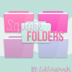 +Square Folders by LuliWazowski