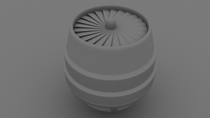 HK-Drone WiP - Engine Occlusio by WilliamTownsend