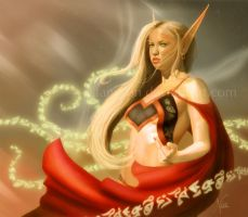 Blood Elf by Llanir