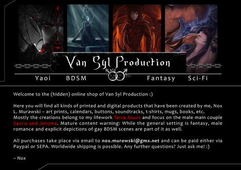 Shop of Van Syl Production (Complete as PDF) by Van-Syl-Production