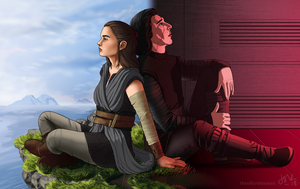 Bonding - Reylo by TheSilliestHuman
