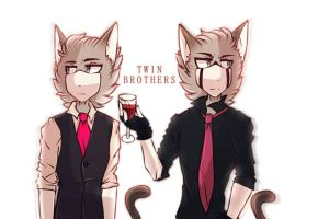 { Twin Brothers + Speed Paint } by r0ssmiino