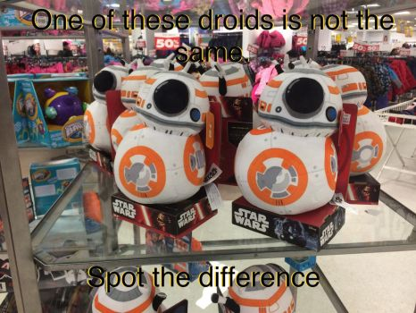 Spot the wrong droid by EJLightning007arts
