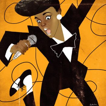 Janelle Monae by kevinwada