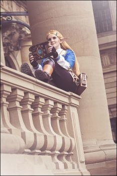 Zelda Cosplay - Breath of the Wild by Fall3nW1ngs