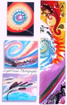 Paintings by Twyla by lilpixie
