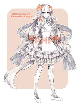 [GACHA] Adoptable: Monochrome V by Staccatos
