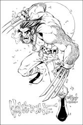 Wolverine Inks by Red-J