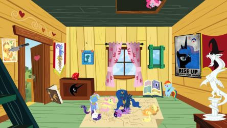 Doll House #1: Clubhouse of evil by RubyCast