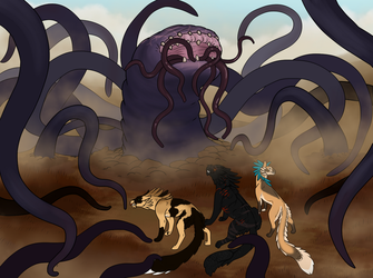 The Tentacled Standoff by TheCheryl