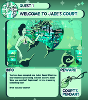 Quest 1: Welcome to the Court! by ChobiLuck