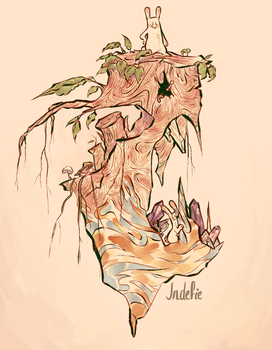 tree by Indefie