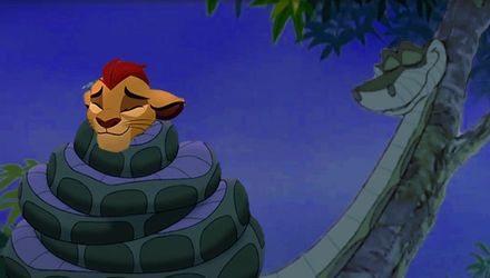 Kaa and Kion Pt. 10 (final) [GIF] by seviperman13