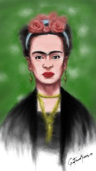 Frida Khalo by nohandsnolegs