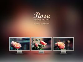 Rose Wallpaper Pack by VeraCotuna