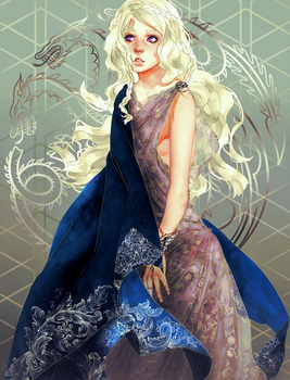 Daenerys Targaryen - Game of Thrones by venquian