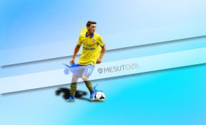 Mesut Ozil Wallpaper by eaglelegend