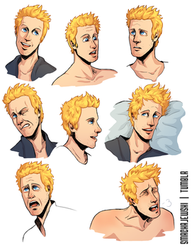 Noah Faces by SMachajewski