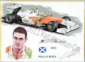 Paul Di Resta Montage by karlhcox