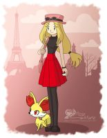 Female Trainer X and Y by Symphonie-Rose