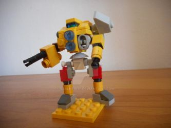 Micro-scale Lego CN9-A Centurion by S7alker117