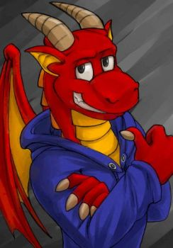 Cool Dragon Roy by MiyaYoshi