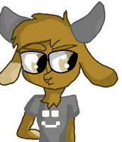 Digby The Goat by fluffycatjeff