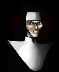 Sister Marguerite by roushi