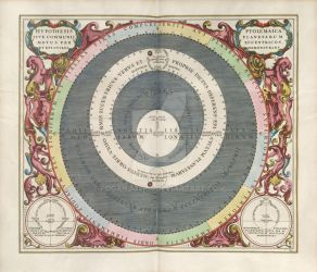 Keller - Ptolemaic Model of the Solar System 1661 by RoganJoshC