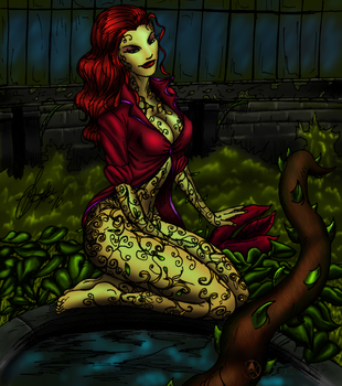 Poison Ivy By Beowulf by Darksand17