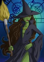 Elphaba by FallenMessiahX