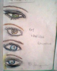 EYES!!! by theloverofTMI