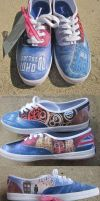 Doctor Who Shoes by feavre